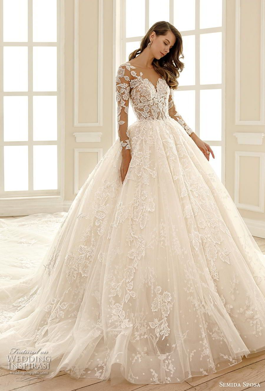 Semida Sposa 2020 Wedding Dresses Amazon Bridal Collection In