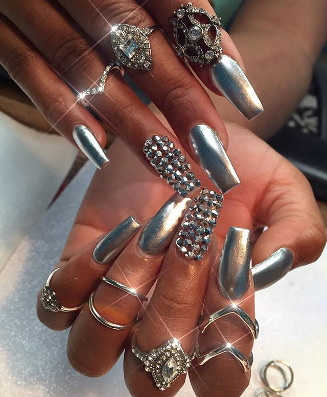 Instagram Post by queenofnails (@queenofnails) | Diseños de uñas ...