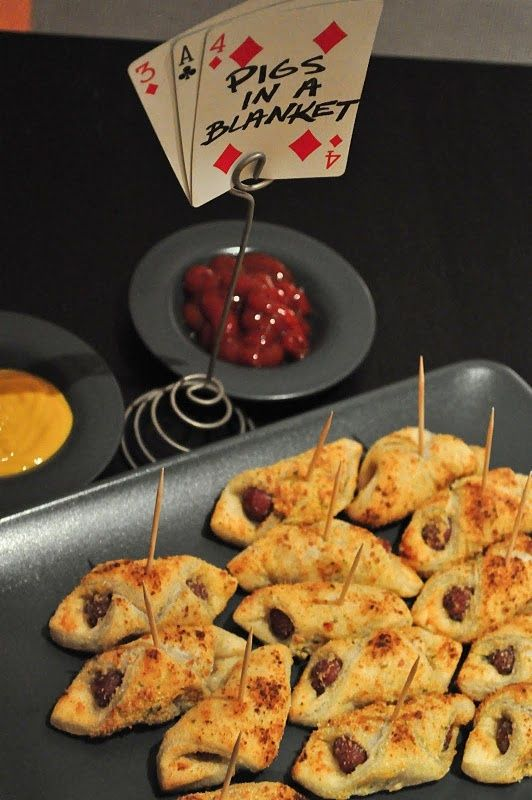 Host A Fun Game Night Party With Images Casino Night Food