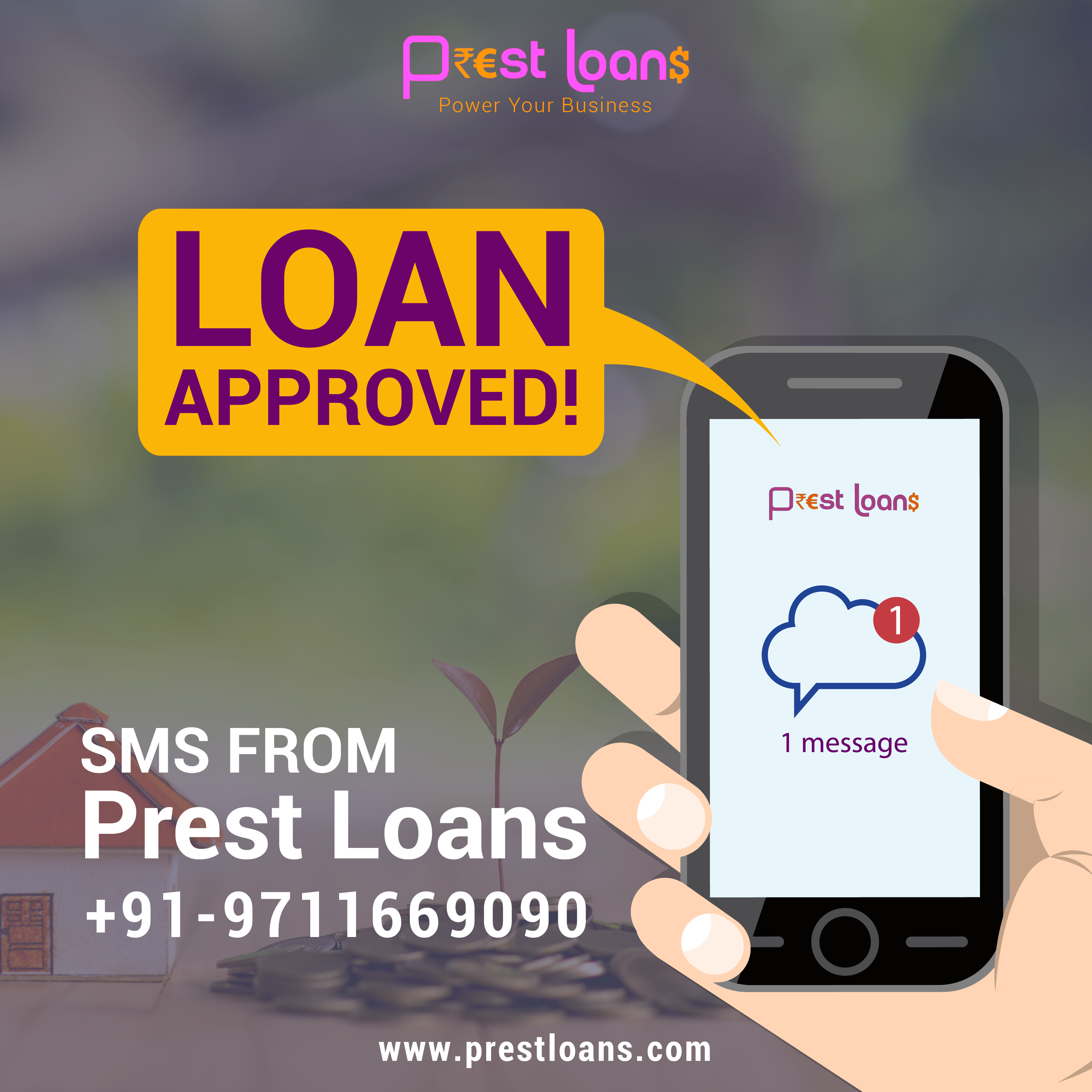 Isn T It A Feeling Of Relief When The Loan You Applied For Gets Approved With Prestloans Easy Application Verification Grow Business Business Loans Business