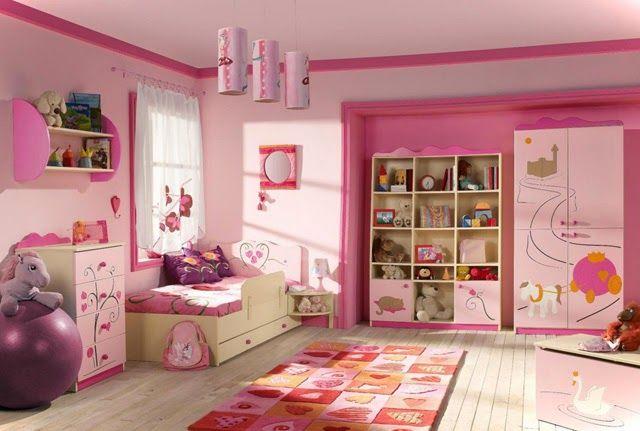 21 Preciosas Habitaciones Para Ninas De Color Rosa Diseno De Habitacion De Ninos Habitaciones Infantiles Modernas Habitaciones Infantiles