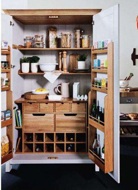 i want an antique larder like this but to use as a tv unit x how amazing  would that look x x would need my shaun to customise it x x - Love This Padstow Larder From M - Unfortunately Need A Far Larger