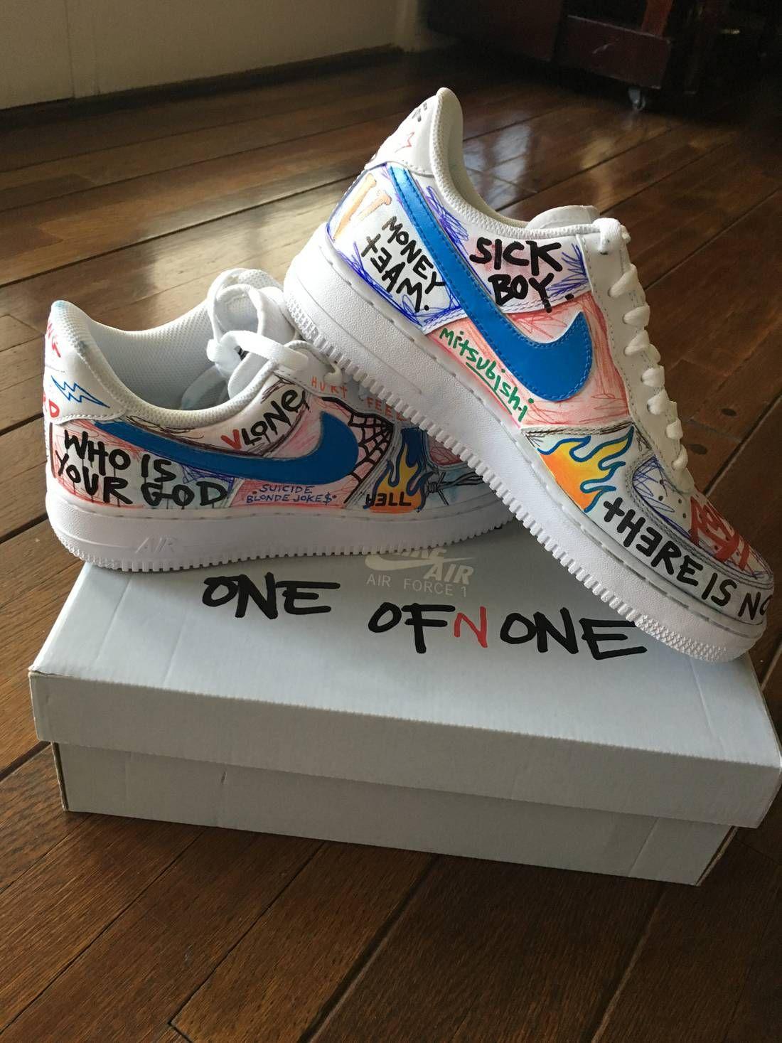 fdfe305a156d Bildergebnis für vlone custom sneakers