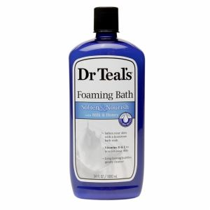 Buy Dr. Teal's Foaming Bath, Soften & Nourish with Milk & Honey with free shipping on orders over $35, low prices & product reviews   drugstore.com