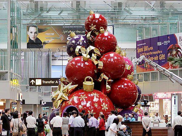 Giant Commercial Christmas Ornaments Mall X\u0027mas Pinterest