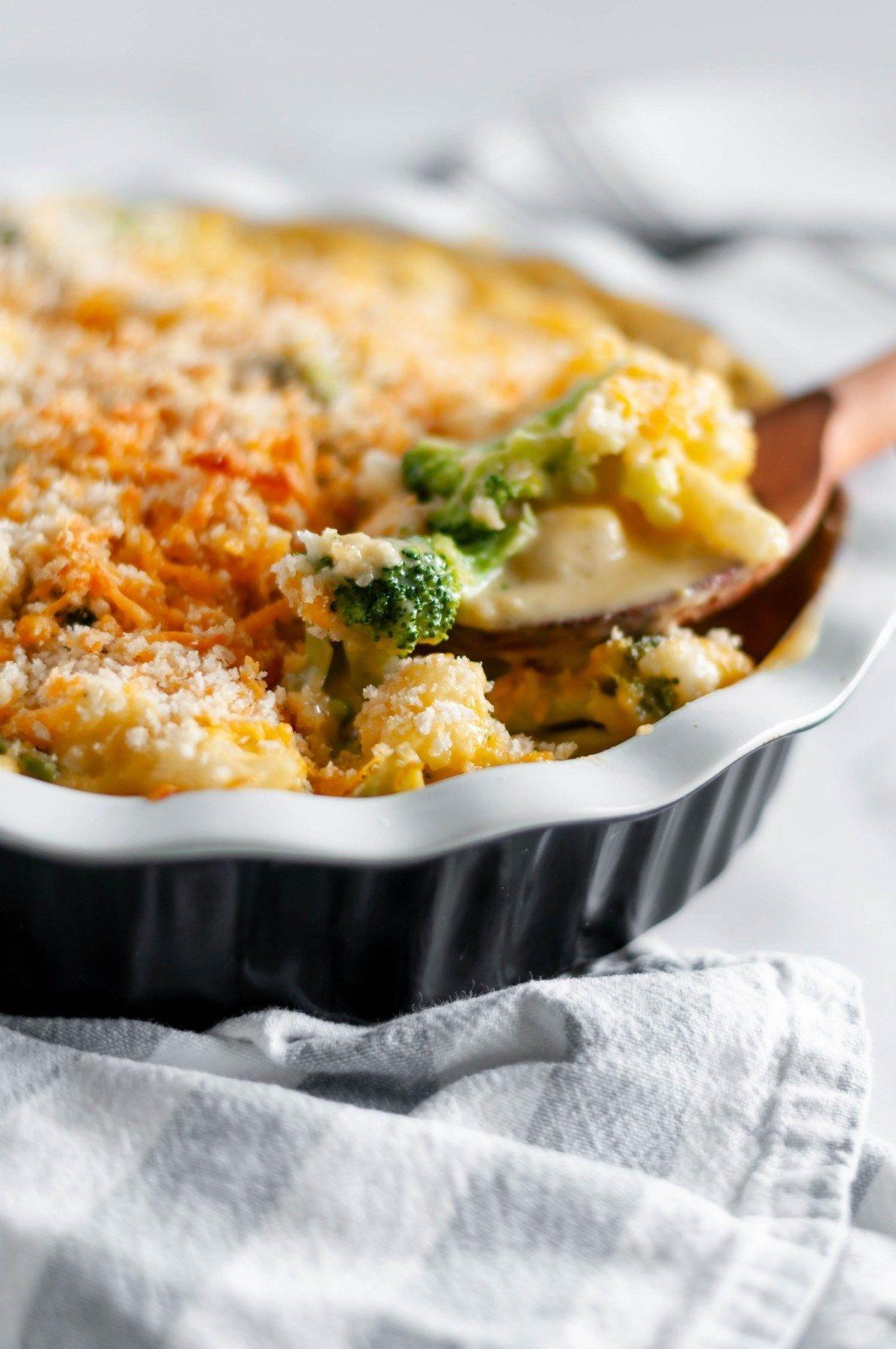 Broccoli and cauliflower au gratin recipe cauliflower
