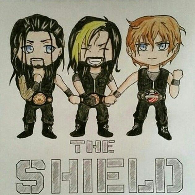 The Shield Dean Ambrose Seth Rollins And Roman Reigns Com