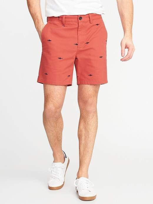 a9aba03850c Old Navy Slim Ultimate Built-In Flex Shorts for Men - 6-inch inseam