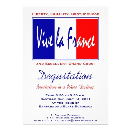 Vive la france party invitation with french flag what i sold today vive la france party invitation with french flag stopboris Gallery