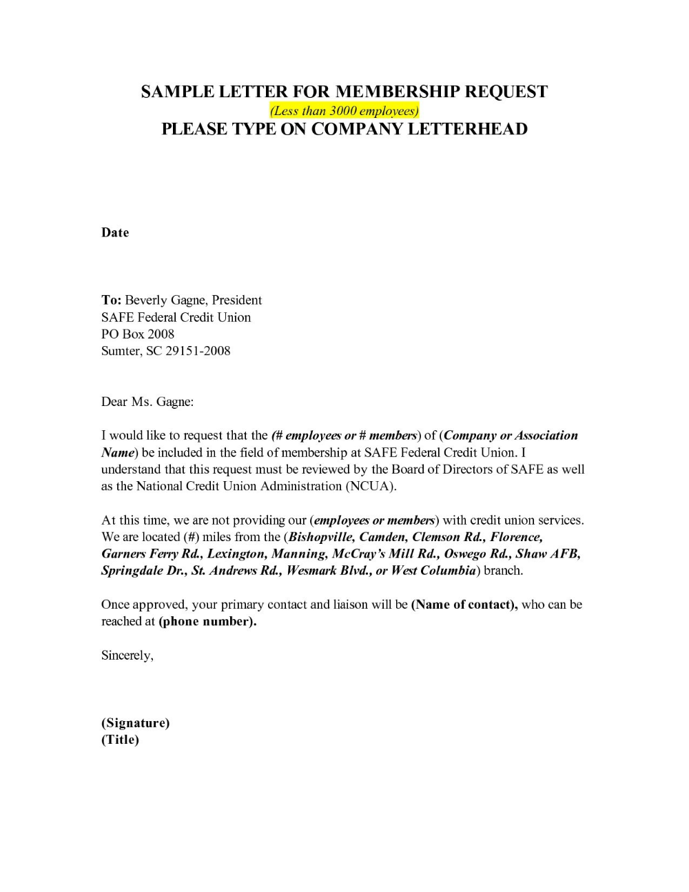 Contract Cancellation Letter Template Free Samples Letter