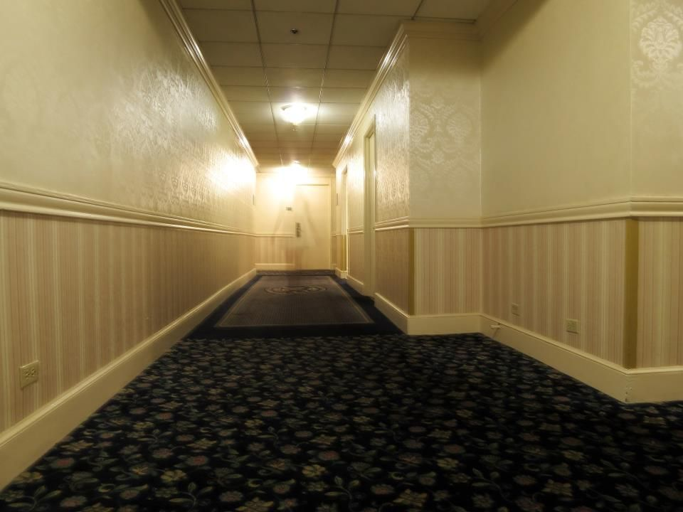 Shot of a ghost i captured at the haunted menger hotel in for San francisco haunted hotel