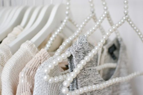 This would be a great DIY if I were so do a statement rack of all my favorite clothes. Definitely a maybe. -Xoxo, Ari