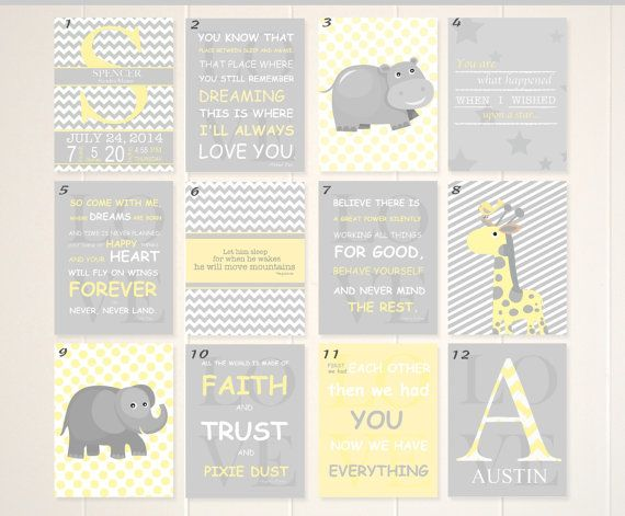 Hey, I found this really awesome Etsy listing at https://www.etsy.com/listing/200162235/baby-boy-nursery-art-book-quotes-nursery