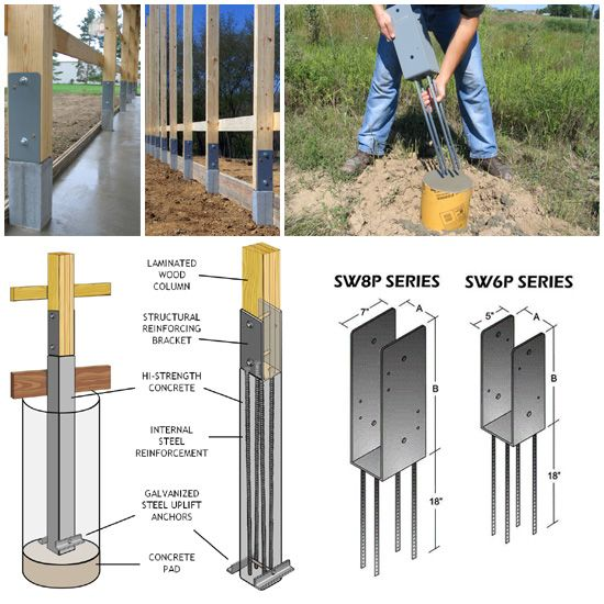 fence metal footings brackets - Google Search | Privacy