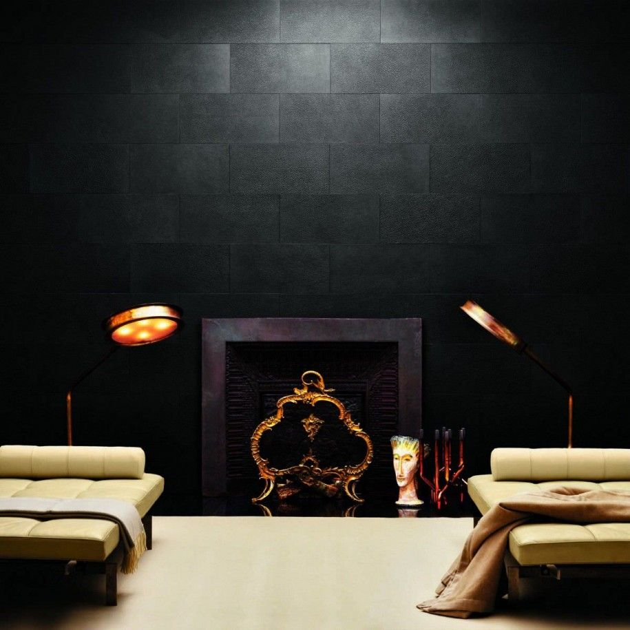 Leather luxury home design glamorous office leather beautiful wall