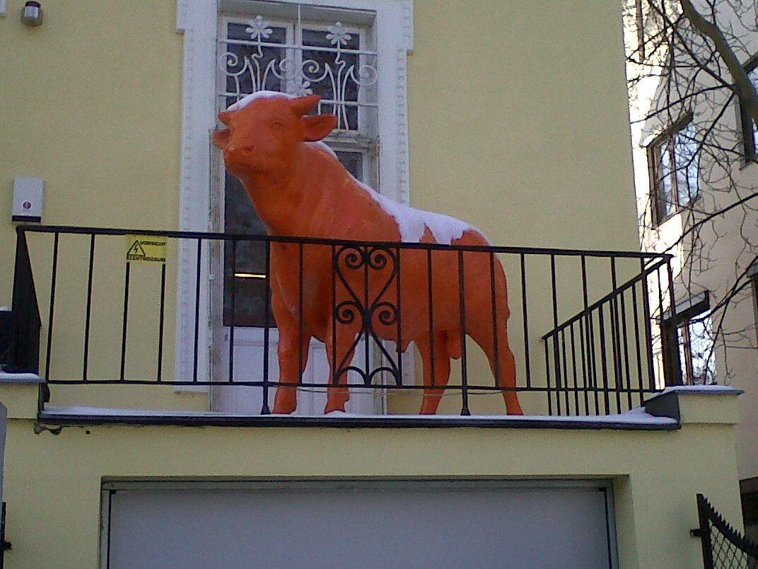 random viennese balcony