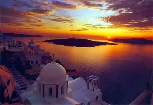 Santorini (Thera), Greece