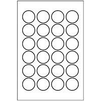 Free Avery® Templates - Round Label, 24 per 4x6 sheet, 5408 | Food ...