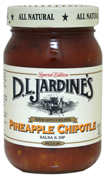 DLJ Pineapple Chipotle Salsa Delicious Cooking & Dipping Sauce