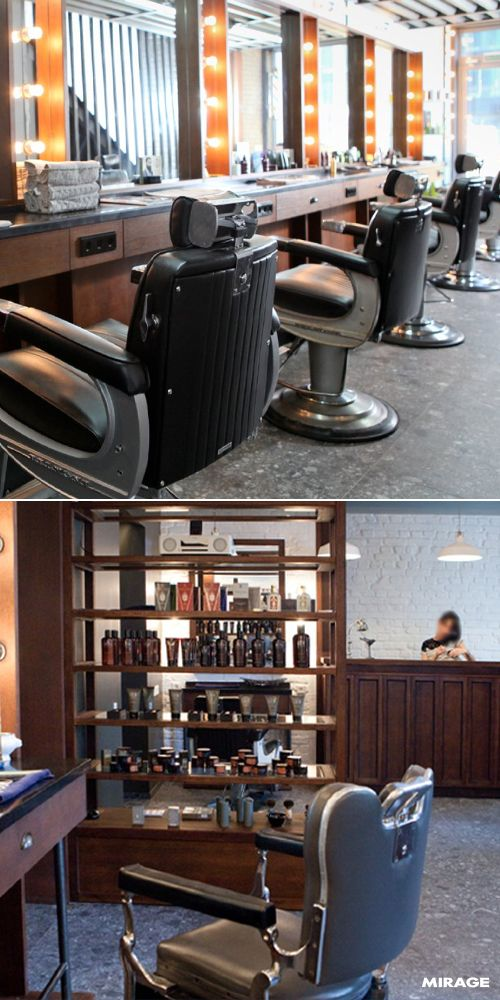 Projects #BarberShop A journey back in time between different - Different Types Of Interior Design