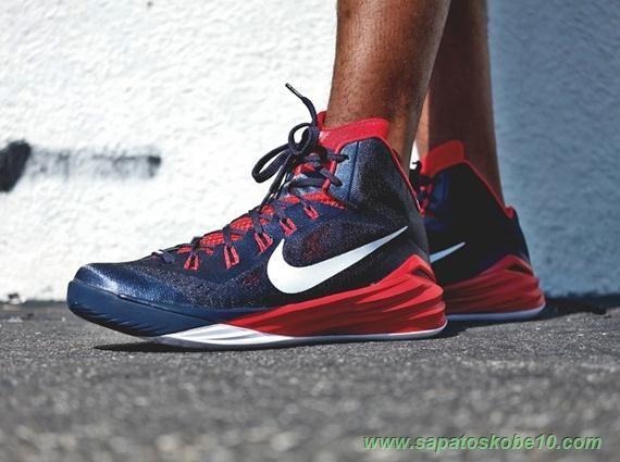 venda de tenis online Obsidian/universidade Vermelha/Branco 653640-416 Nike Hyperdunk 2014