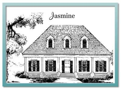 Authentic historical designs jasmine house plans for Authentic historical house plans