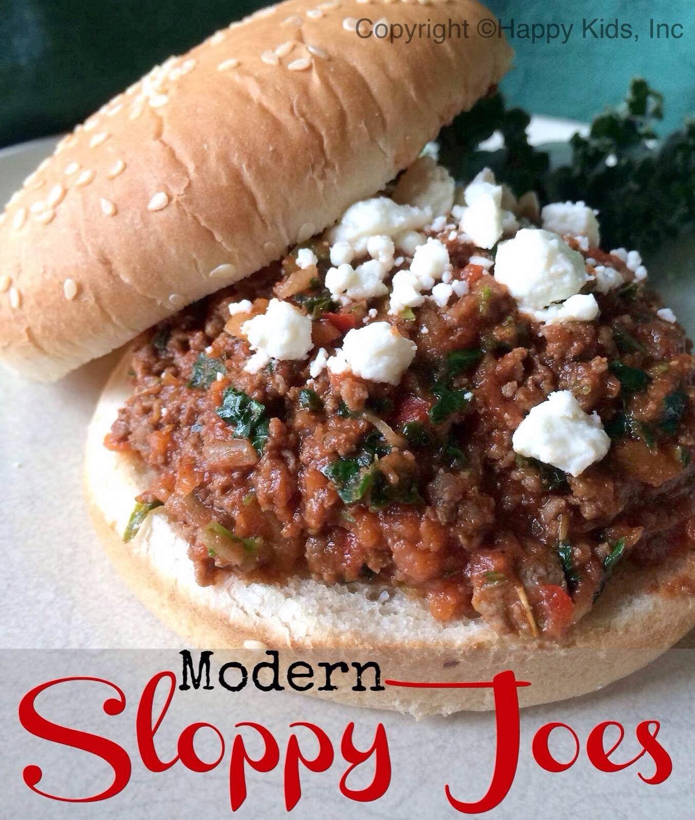 Sloppy Joes Family Friendly Healthy Recipes