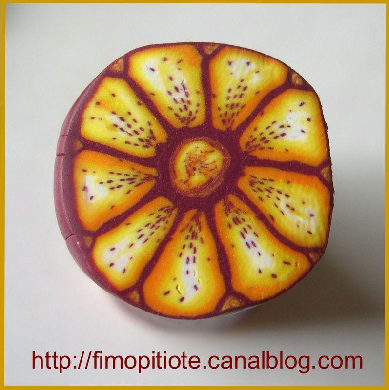 """Tutorial cane """"gazania flower"""" (translate)"""