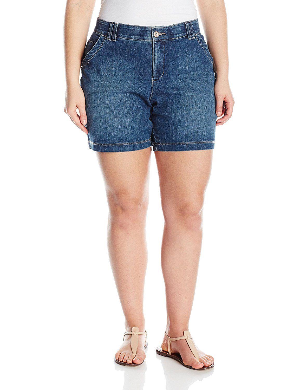 Lee Women S Plus Size Comfort Fit Hettie Short To View Further