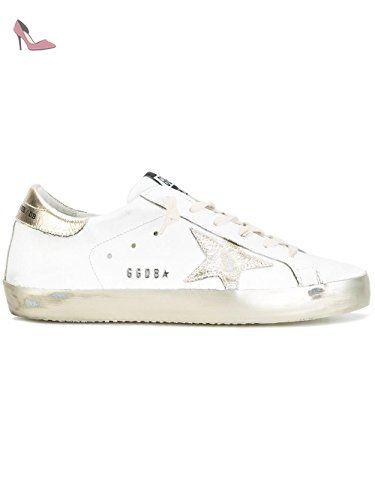 Chaussures De Sport Pour Les Femmes, Blanc, Cuir, 2017, 35 36 37 40 41 Oie D'or