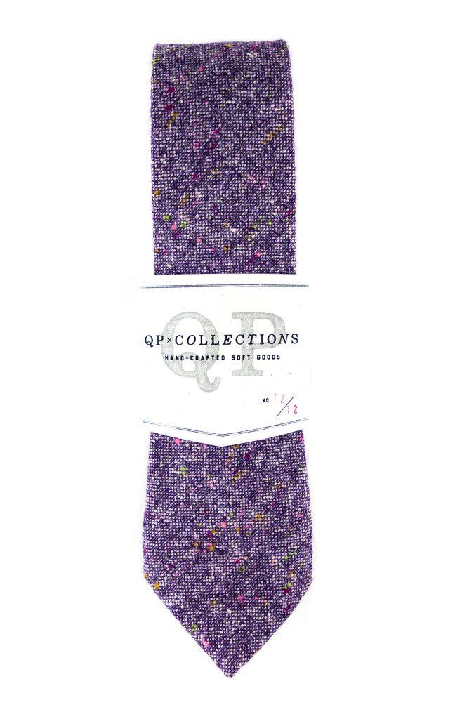 301de079b421 Wool Tweed Necktie - Purple   If I was a man....yesss.   Wool tie ...