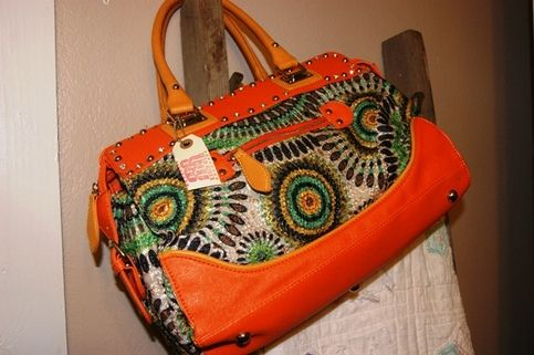 Funky Southwestern Large Tote, Cowgirl Style