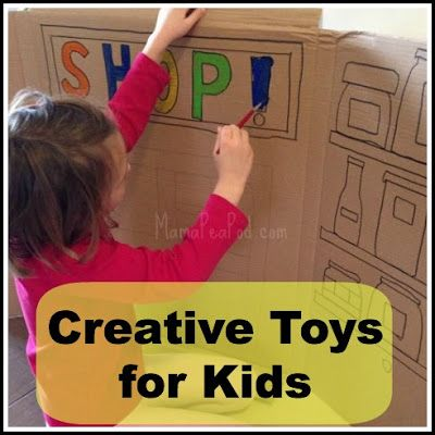 Creative \'Toys\' for Kids} | Pea pods, Toy and Activities