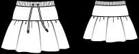 FREE PATTERN girls skirt :: Falda niña PATRÓN GRATIS
