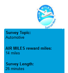 Earn 15 Bonus Air Miles & See how easy it is to rack Your
