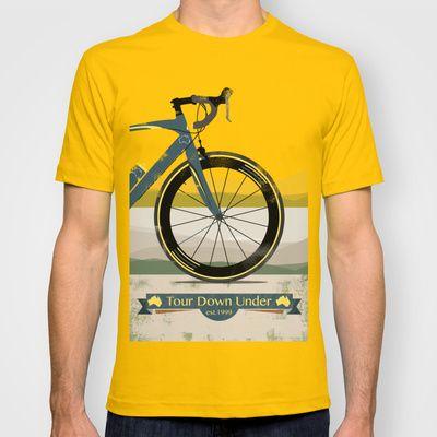 Tour Down Under Bike Race T Shirt Bike Tshirt Shirts T Shirt