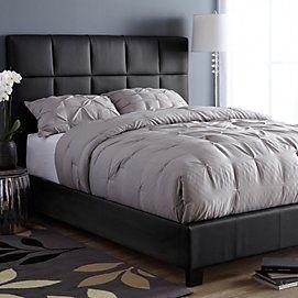 Astoria Upholstered Platform Bed Ensemble