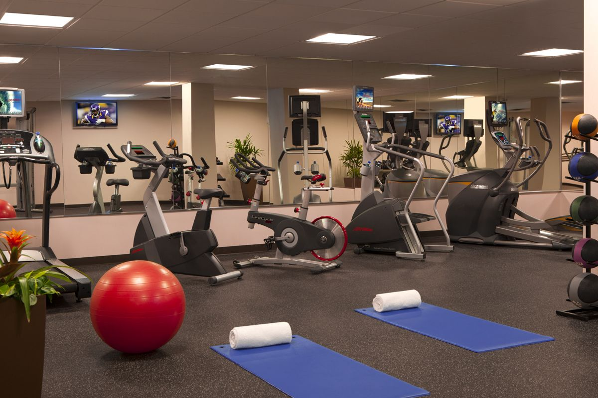 Fitness Center At Millennium Hotel Minneapolis Hotel Millennium Hotel Minneapolis