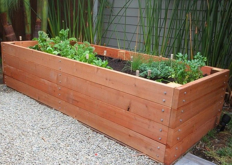 Charming Container Gardening U003e Vegetable Garden Planter Box Plans Ideas