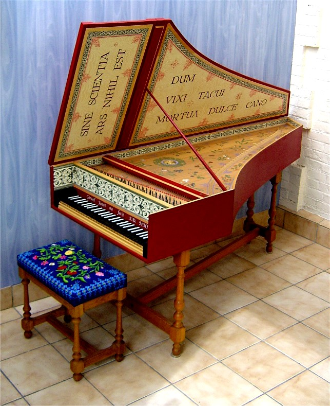 harpsichord | Harpsichord in the Flemish style