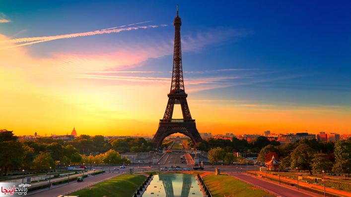 برج ایفل و نوتردام Eiffel Tower Tower Travel Photography