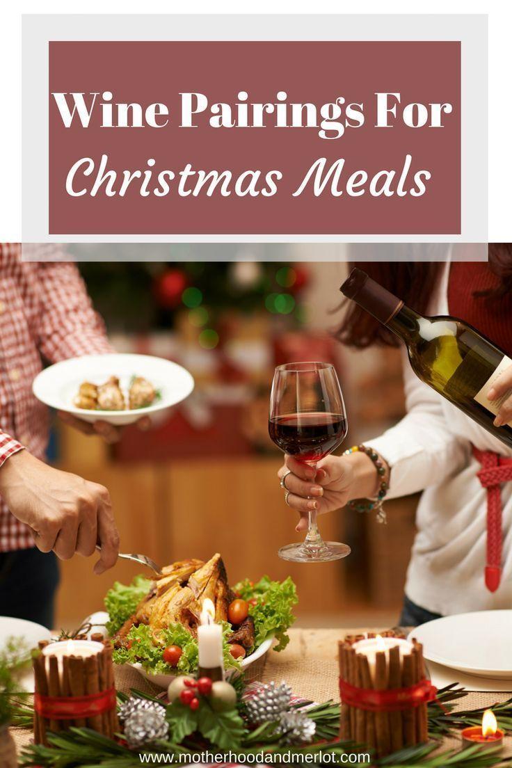 Wine With Christmas Dinner - #christmasdinner #winepairings #wine #wineonchristmas