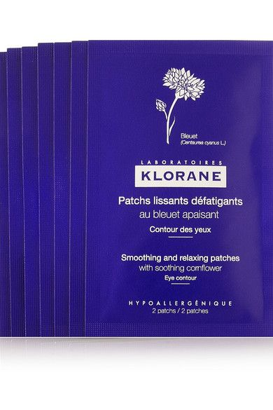 Klorane Soothing And Relaxing Eye Patches X 7 Under Eye Mask Eye Cream For Dark Circles Tired Eyes