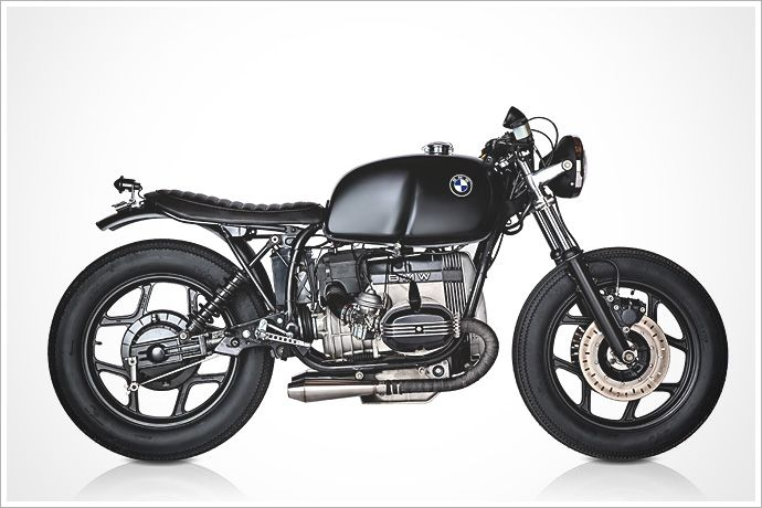 """Rudy Banny's '86 BMW R80RS - """"BraféRacer"""" - Pipeburn - Purveyors of Classic Motorcycles, Cafe Racers & Custom motorbikes"""