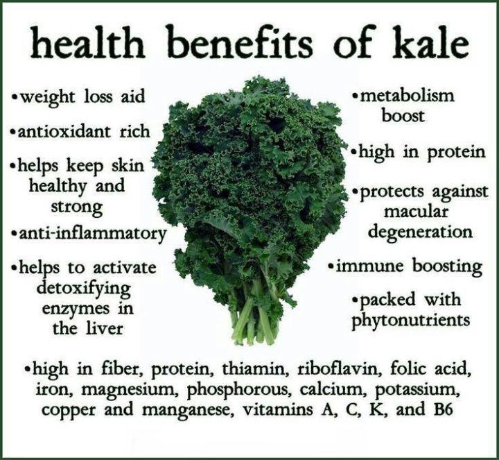 Kale Smoothie & National Kale Day!