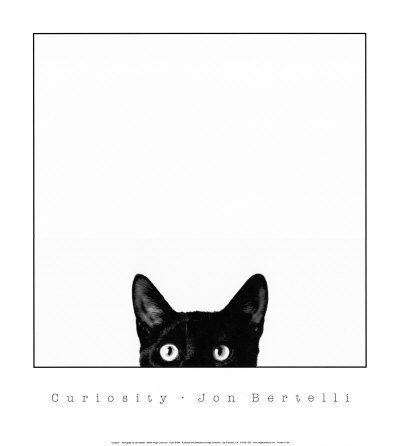 CAT ART PRINT Me Ow Alex Cherry