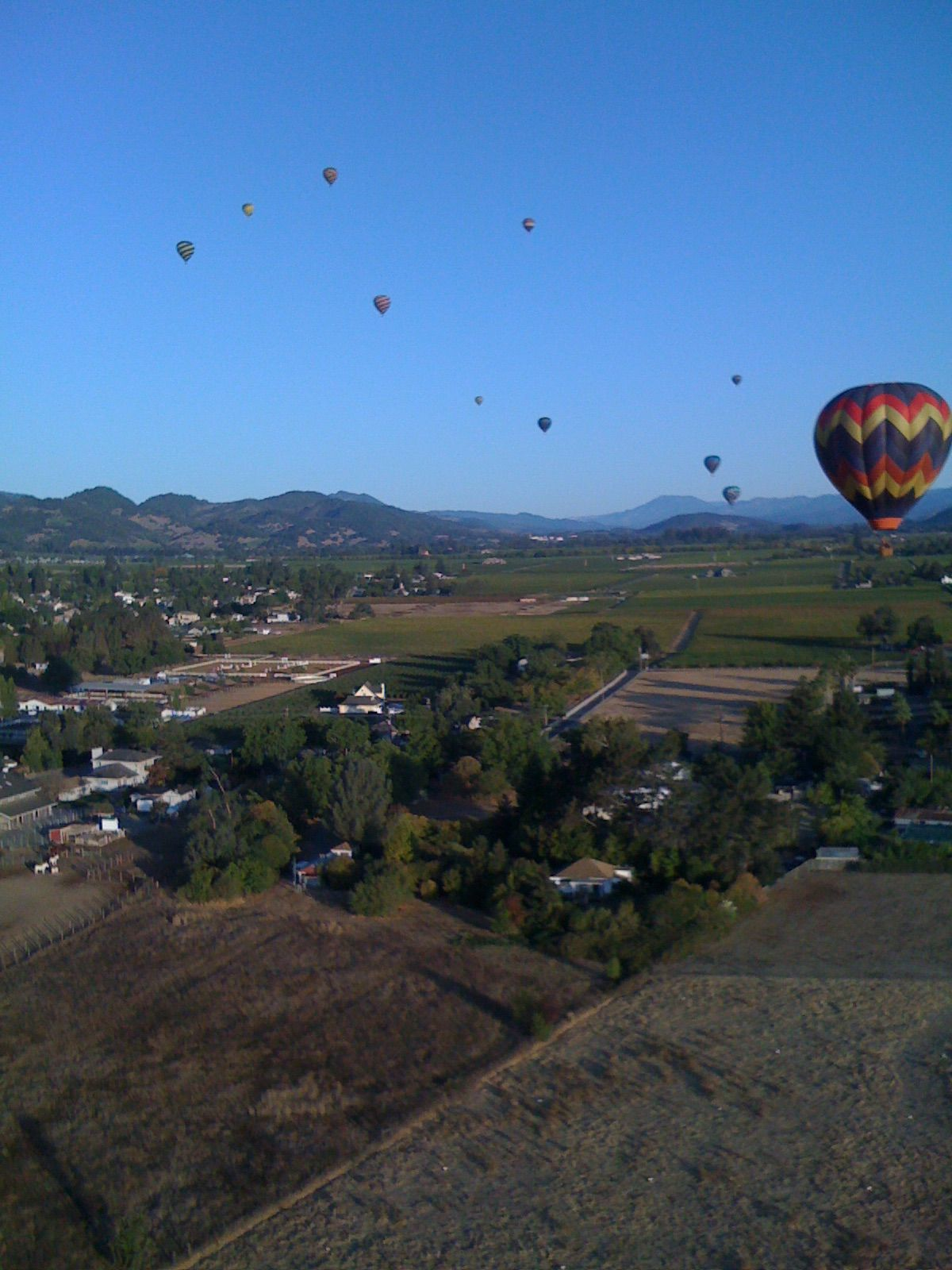 Napa Valley hot air balloon ride Air balloon rides