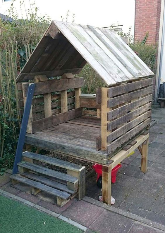 17 Cute Upcycled Pallet Projects for Kids Outdoor Fun (con