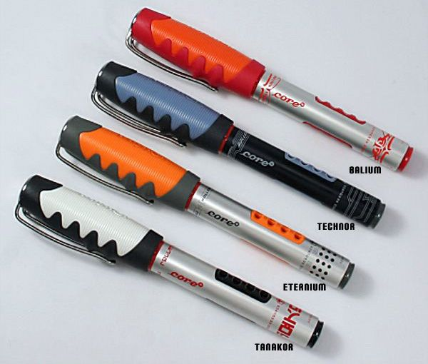 Rotring Core Eternium Fountain Pen Here Are Some Color Samples Fountain Pen Reviews Fountain Pen Rotring Pens