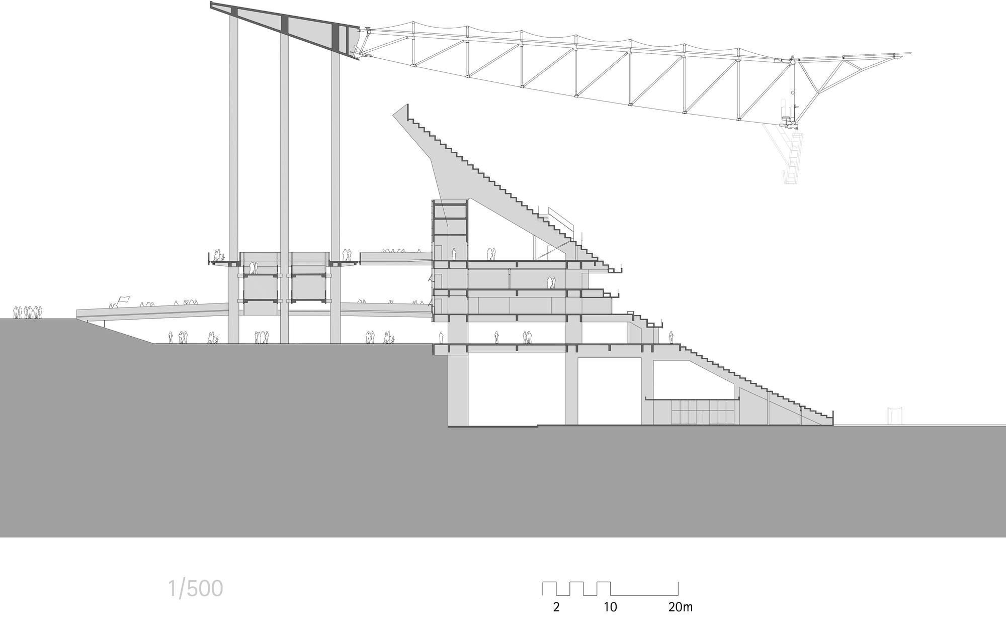 Architecture Drawing Png 53c37d92c07a80aa890000c7_brasilia-national-stadium-gmp